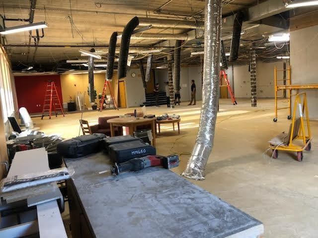 Alumni Heritage Room Construction