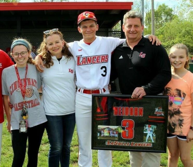 Brian Heidorn and family photo